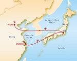 China & Japan Rundreise und Baden