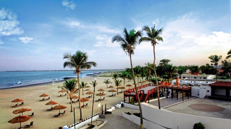 Sunbeach Hotel und Resort in Bakau, Gambia TE