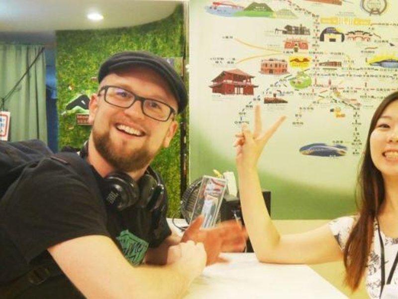 Backpacker's Inn in Taipeh, Taiwan PE
