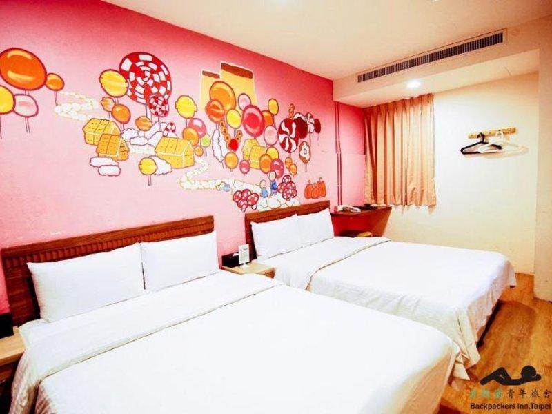 Backpacker's Inn in Taipeh, Taiwan W