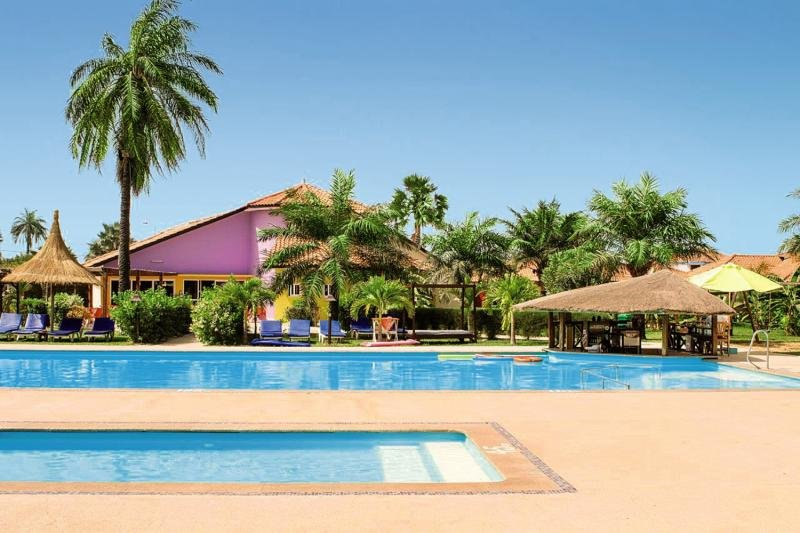 Djeliba Hotel und Spa in Kololi Beach, Gambia