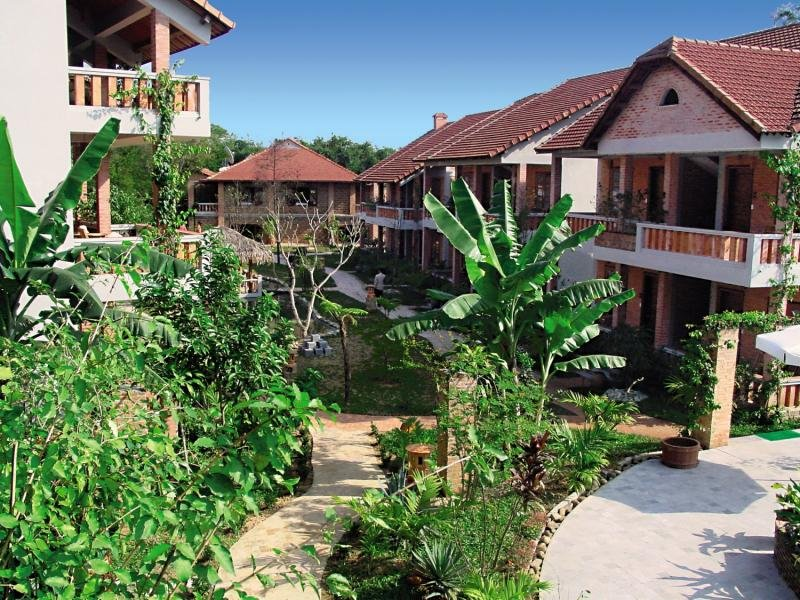The Pilgrimage Village in Hue, Vietnam A