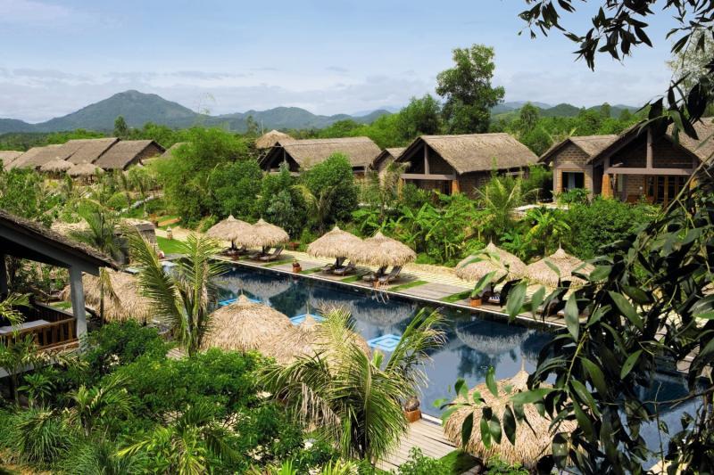 The Pilgrimage Village in Hue, Vietnam P