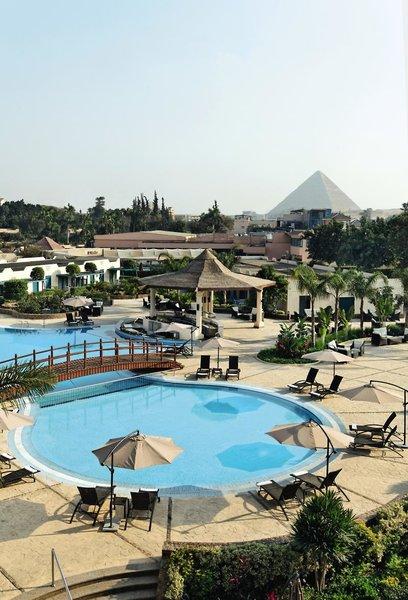 Cairo Pyramids Hotel in Gizeh, Kairo und Umgebung P