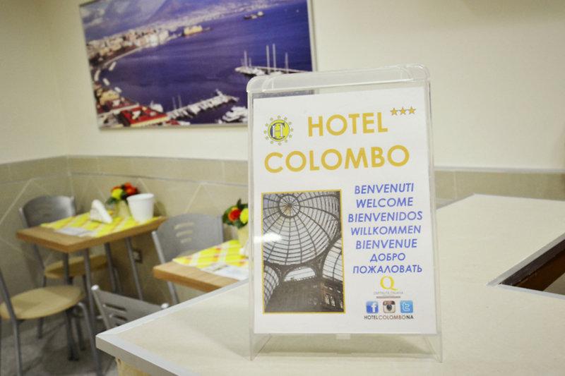Hotel Colombo in Neapel, Golf von Neapel LK
