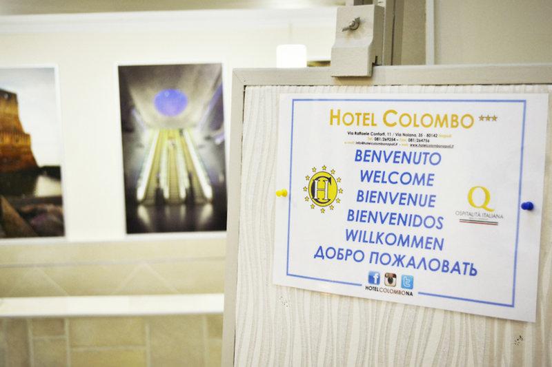Hotel Colombo in Neapel, Golf von Neapel