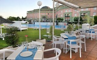 Hotel Ilunion Alcora Sevilla Hotel Terasse