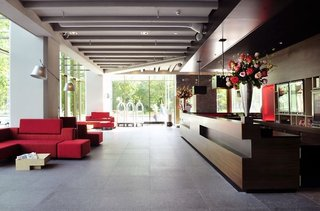 Hotel Ramada Apollo Amsterdam Centre Lounge/Empfang