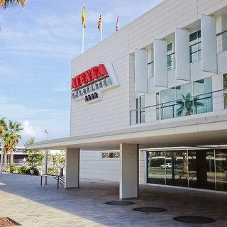 Hotel Atenea Port Barcelona Mataro Außenaufnahme