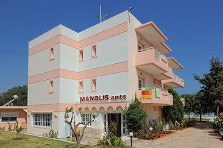 Hotel Manolis Apartments Außenaufnahme