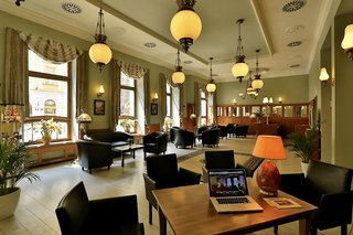 Hotel Ariston & Ariston Patio Prague Lounge/Empfang
