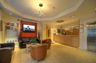 Hotel Comfort Inn Hotel Kings Cross St. Pancras London Lounge/Empfang