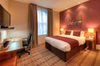 Hotel Comfort Inn Hotel Kings Cross St. Pancras London Wohnbeispiel