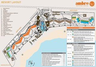 Hotel Ambre A Sun Resort Mauritius - Erwachsenenhotel Landkarte