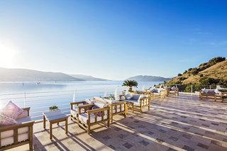 Hotel Voyage Bodrum - Erwachsenenhotel Terasse