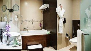 Hotel Carlton Downtown Hotel Badezimmer