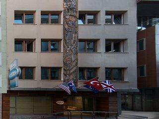 Hotel Olimpiyat Außenaufnahme