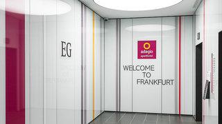 Hotel Aparthotel Adagio Frankfurt City Messe Lounge/Empfang