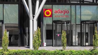 Hotel Aparthotel Adagio Frankfurt City Messe Außenaufnahme