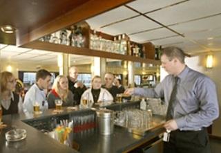 Hotel Amstel Botel Hotelschiff Bar