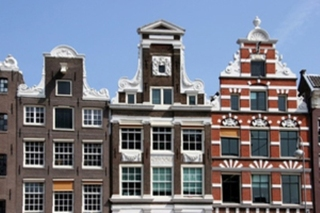 Hotel Amstel Botel Hotelschiff Stadtansicht