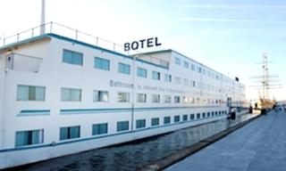Hotel Amstel Botel Hotelschiff Außenaufnahme