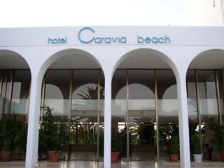 Hotel Caravia Beach Außenaufnahme