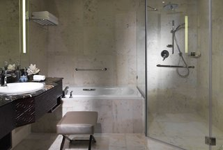 Hotel Bab al Qasr Hotel & Residence Badezimmer