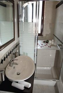 Hotel Antica Dimora Suites Badezimmer