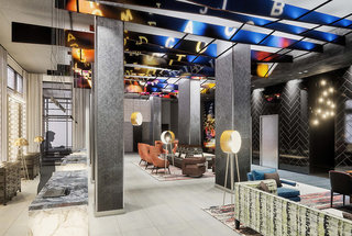 Hotel DoubleTree by Hilton Hotel New York - Times Square West Lounge/Empfang