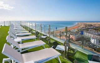 Hotel HL Suitehotel Playa Del Ingles - Erwachsenenhotel Terasse