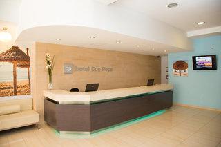 Hotel Don Pepe - Erwachsenenhotel ab 18 Jahren Lounge/Empfang