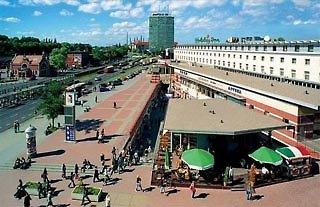Hotel Scandic Gdansk Außenaufnahme