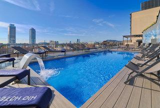 Hotel H10 Marina Barcelona Außenaufnahme