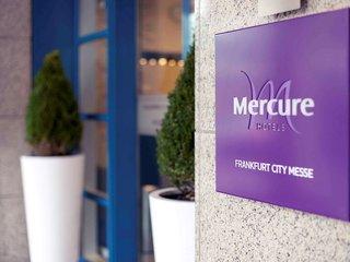 Hotel Mercure Frankfurt City Messe Außenaufnahme