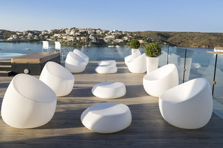 Hotel Barcelo Hamilton Menorca - Erwachsenenhotel Terasse