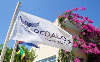 Hotel Dedalos Beach Außenaufnahme