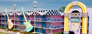 Hotel Disney´s All Star Music Resort Außenaufnahme