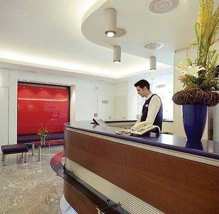 Hotel Leonardo München City West Lounge/Empfang