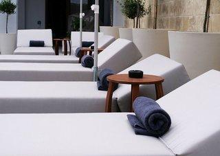 Hotel Ikones Seafront Luxury Suites - Erwachsenenhotel Terasse