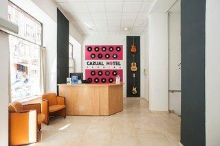 Hotel Casual Valencia de la Musica Lounge/Empfang