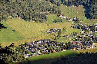 Hotel Feriendorf Kirchleitn - Dorf Kleinwild Luftaufnahme