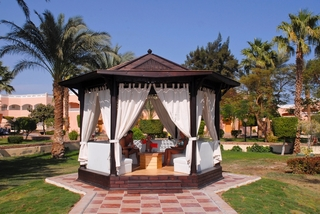 Hotel Albatros Aqua Park Resort Garten