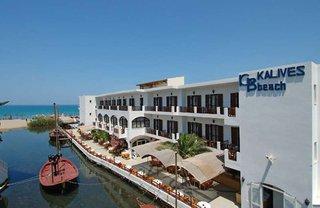 Hotel Kalyves Beach Außenaufnahme