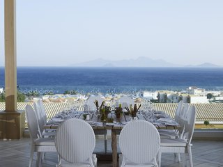 Hotel Mitsis Blue Domes Resort & Spa Terasse