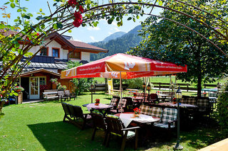 Hotel Gasthof Christophorus Garten
