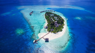 Hotel Adaaran Club Rannalhi Luftaufnahme