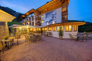 Hotel Alpine Resort Zell am See Terasse