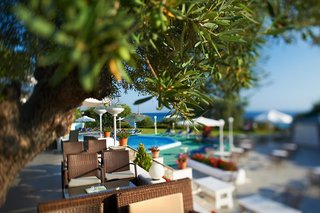 Hotel Acrotel Elea Beach Terasse
