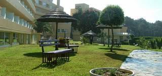 Hotel Axis Ofir Beach Resort Garten